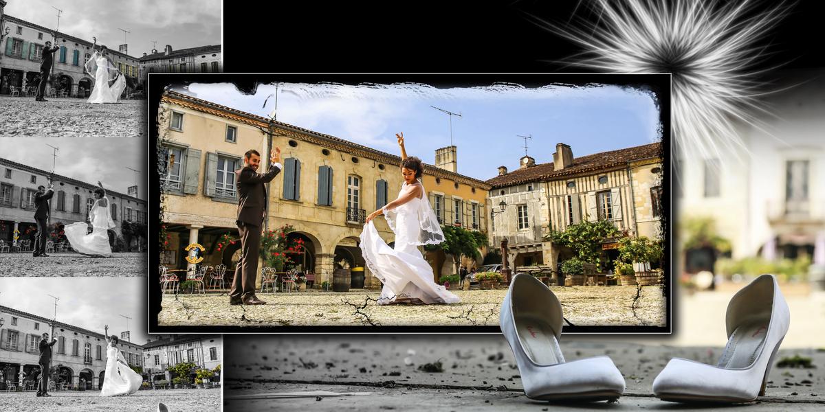 Préférence Mise en page d'album photo Mariages - Studio la Makina TU24